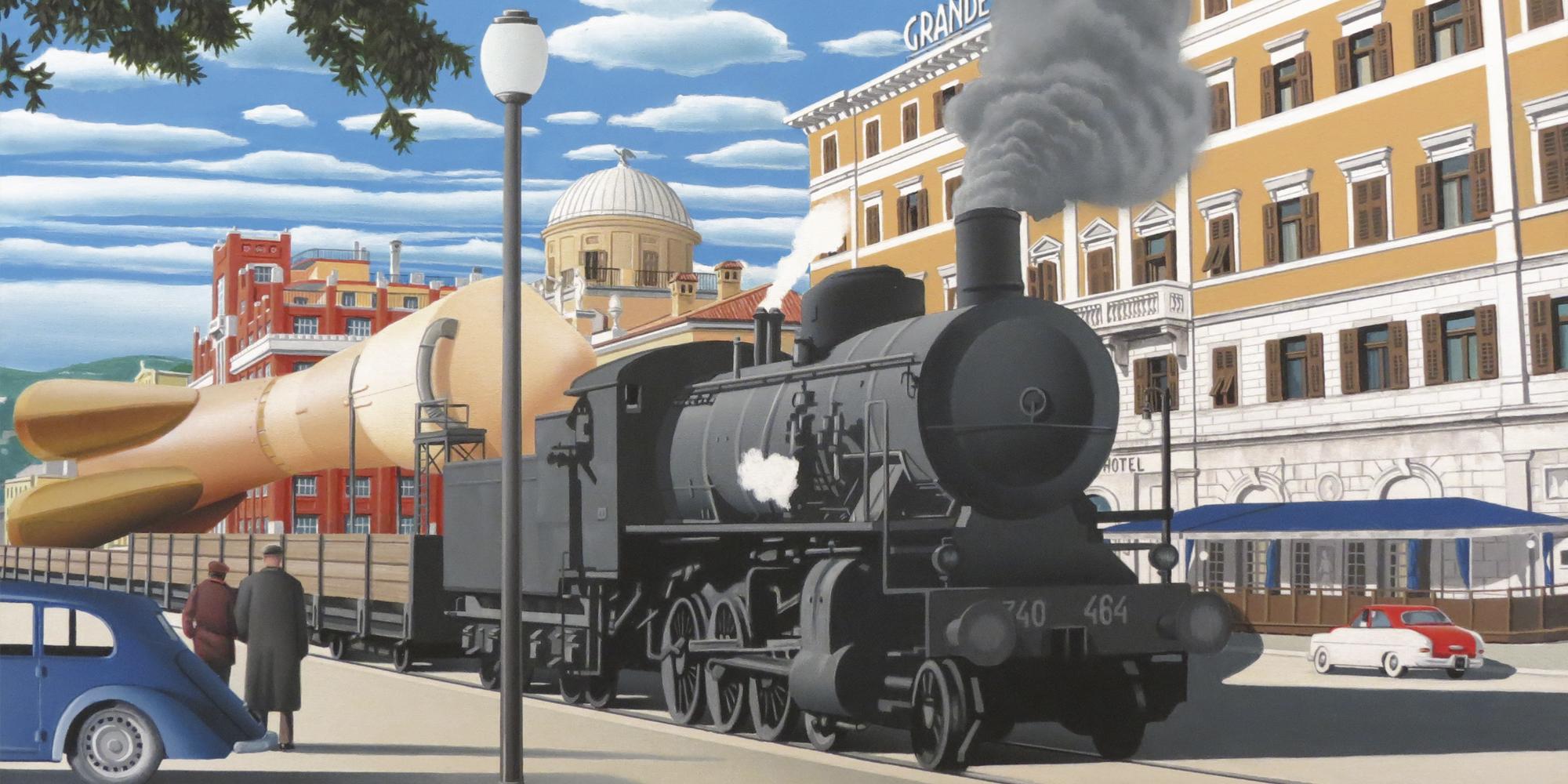 Treno per la luna (2013)